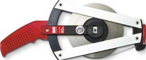 Rahmenbandmaß ERGOLINE L.50m Band-B.13mm B mm/cm EG II Alu.gelb Stahlmaßband BMI