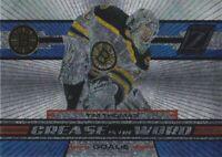 2010-11 Zenith Hockey Crease Is The Word #2 Tim Thomas Boston Bruins