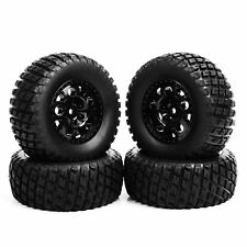 4PCS 12mm Hex 1/10 Scale RC Short Course Truck Tire & Wheel For TRAXXAS SlASH