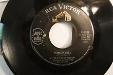 Little Peggy March, I Will Follow Him / Wind-Up Doll, RCA Victor 47-8139,1963