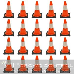 "JBC Traffic Cone 20 PCS Set, 12"" HT, RS30008C3M4"