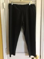 Woman With Control REGULAR Tummy Control Ankle Pant Black 1X
