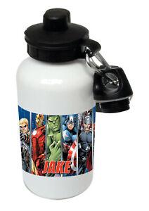 Marvel Avengers - Personalised Kids/Drinks/Sports Childrens Water Bottle