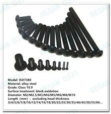 M4 M5 M6 M8 Grade 109 Black Alloy Steel Hex Socket Button Head Screw Bolt