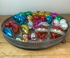 More details for collection of vintage christmas baubles