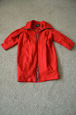 Ladies red atmosphere Coat Size 8, 3/4 sleeves
