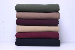 Jersey Ribbed Hijab Headscarf Good Quality Shawl Stretchy Summer