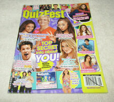 QuizFest teen magazine August 2015 1D/One Direction/Shawn Mendes/5 SOS/Hot Boys