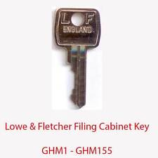 Lowe & Fletcher Replacement Filing Cabinet Key GHM1 - GHM155