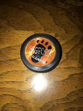 Pogs The Bigfoot Slammer Orange Rubber Vintage Game Toy