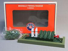 LIONEL MISSILE FIRING RANGE o gauge train us army military depot aerial 6-82544