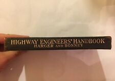 Highway Engineers Handbook By Harger & Bonney 1912 Rare First Edition Book