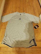 Air Jordan T Shirt Dri Fit Grey 833784-063 Size Large Brand New, Hard to find