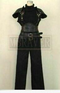 Final Fantasy VII 7 Crisis Core Zack Fair Adult uniform Cosplay Costume