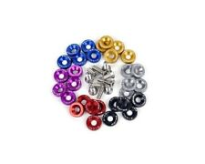 Password:JDM [5 Pair] Dress-up Washers 6Mx20 Bolts w/ 10mm Hole [SILVER] CIVIC