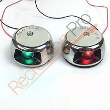 Perfit 12v LED Horizontal Deck Mount Navigation lights 1NM for boat/pontoon