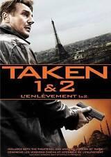 NEW DVD - TAKEN 1 & 2 - DOUBLE FEATURE - Liam Neeson, Maggie Grace, Famke Jansse