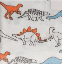 JURASSIC KIDS DINOSAUR Twin Sheet Set ~ Dinosaurs Dinosor Multi Color BRAND NEW