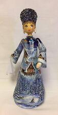 Russian Matryoshka - Russian Handmade Linden Wood Doll  - #8