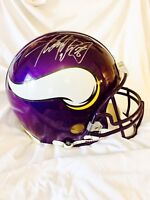 Adrian Peterson Autographed signed Vikings Proline Helmet-AD28 authenticated
