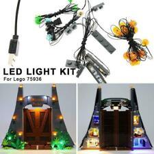 For LEGO 75936 Light kit Jurassic Park T Rex Rampage S4J2