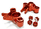 RC Car C25959RED Steering Knuckles for Traxxas 1/10 E/T-Maxx use 6x13mm bearing