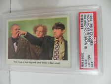 1959 FLEER THREE STOOGES CARD #29 PSA NM-MT 8(ST)