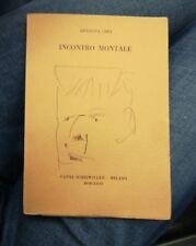 ANNALISA CIMA - Incontro Montale (1973) Autografato con dedica