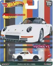 Hot Wheels 2021 Car Culture Deutschland Design C Case Porsche 959 1986 Pre-Order