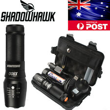 20000lm Genuine Shadowhawk X800 Tactical&Military Flashlight XM-L2LED Torch G700