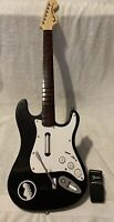 Harmonix Guitar Hero Rock band Fender Stratocaster 19091 Nintendo Wii  NO DONGLE