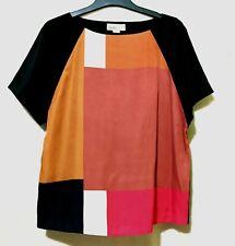 ESPRIT colorblock silk top