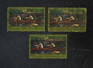 CKStamps: US Error EFO Freaky Stamps Collection Mint NH OG Ink Smeared Crease