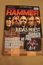 Metal Hammer - 7/2011 - Judas Priest, Sepultura, Porcupine Tree, Def Leppard