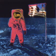 Reprint For Andy Warhol Moonwalk Giclee Canvas Art Print Photo Poster Multi