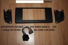 Entretoise Entourage support autoradio DOUBLE DIN BMW e39 série 5 X5 2 DIN + ISO