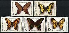 Russia 1987 SG#5726-30 Butterflies MNH Set #D64508