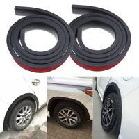 2X 1.5M Universal Car Wheel Arch Protection Moldings Mudguard Strip Trim Rubber