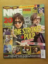 NME SEPTEMBER 3 2011 LIAM GALLAGHER MUSE VACCINES STROKES PULP FRIENDLY FIRES