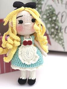 Crochet Princess Dolls, Amigurumi Princes, toy for baby, toddler, kid, adult.