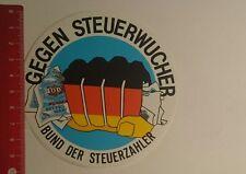 Aufkleber/Sticker: Bund der Steuerzahler gegen Steuerwucher (121216169)