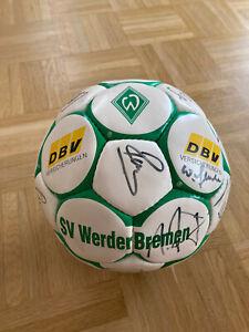 Original SV Werder Bremen Ball Unterschriften Autogramm 1993/94