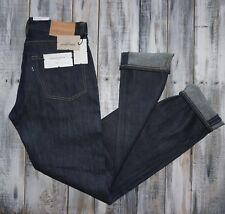 RARE New Tags Mens Levi's Made & Crafted SELVEDGE Tack Slim Jeans 28x34
