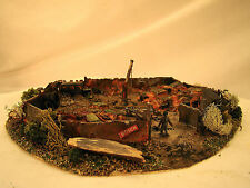 Handcrafted, custom weathered Junk Yard Diorama - lot 4 - HO scale