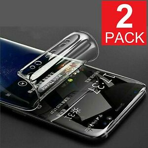 2-Pack For OnePlus 7 7T 8 Pro Full Cover Soft Hydrogel TPU Screen Protector