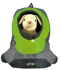 Wacky Paws Pet Backpack, Small, Green  - Pet Carrier for dogs up to 3 Kg