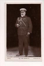 Vintage Postcard King Edward VII of England Military Uniform