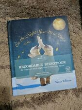 Hallmark Recordable Storybook - On The Night You Were Born - Nancy Tillman New!