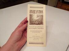 Vtg Brochure Everlynton