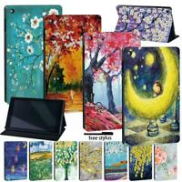 LEATHER STAND COVER CASE Fit Amazon Fire 7 (5/7/9th) HD8 (6/7/8th) HD10(5/7/9th)